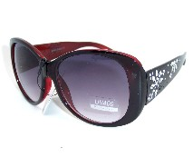 Plastic Frame Fashion Sunglasses