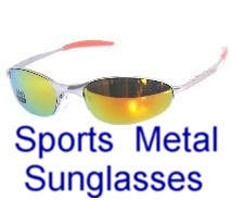 Sports Metal Sunglasses
