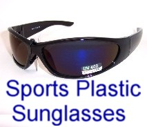 Sports Plastic Sunglasses