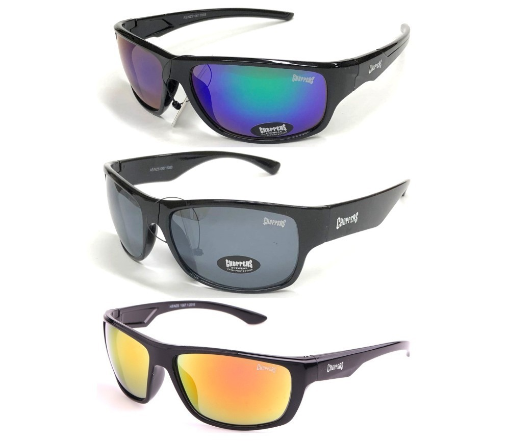 Choppers Sunglasses 3 Style Asst CHOP419/420/421