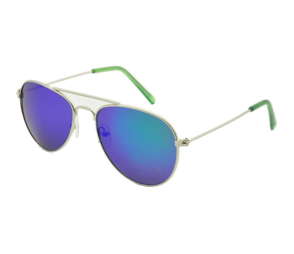 Kids Aviator Metal Sunglasses KM8060-2